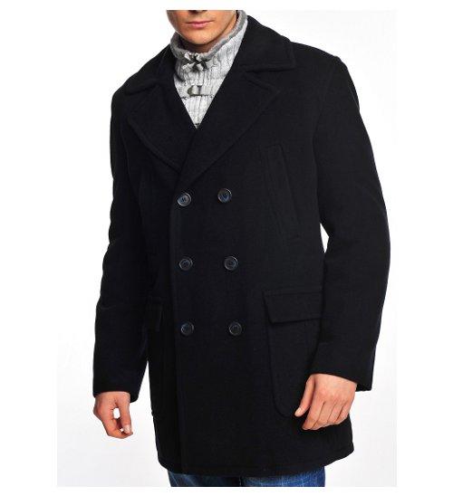 edler herren winter woll kaschmir mantel caban l 3xl schwarz neu ebay. Black Bedroom Furniture Sets. Home Design Ideas