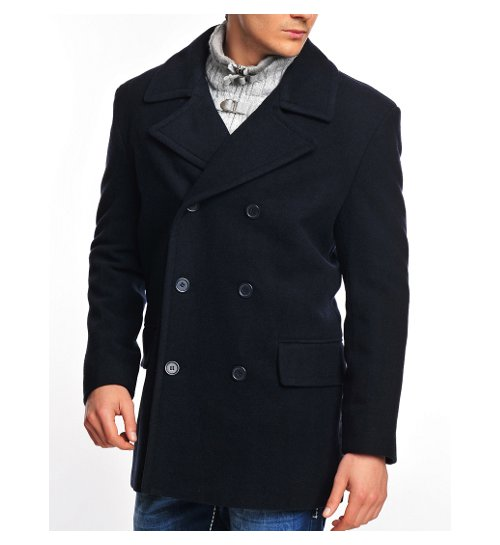 herren winter woll mantel caban pea coat jacke m 3xl neu ebay. Black Bedroom Furniture Sets. Home Design Ideas