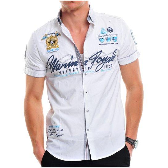 ... Zack Herren Polo Club Designm kurzarm Hemd T-Shirt Slim fit. orgteam. GEOGRAPHICAL  NORWAY HEMD YACHT CLUB ZIPAWA KURZARM S-XXL NEU bd52b54813